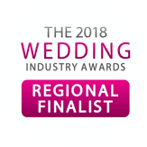 Wedding Industry Award 2018 Finalist