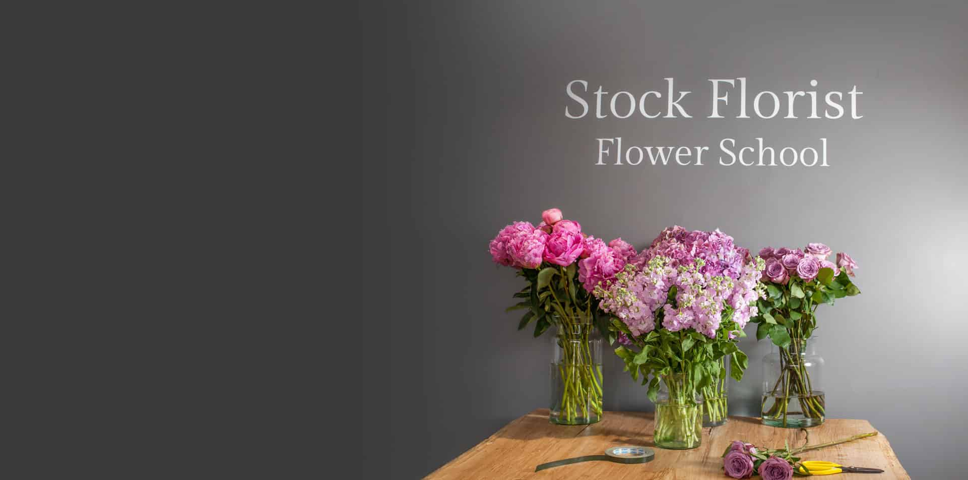 Flower School Header Image